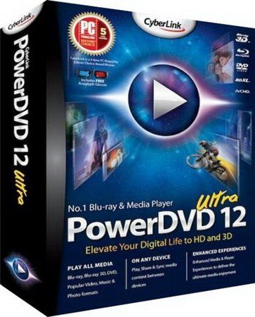 CyberLink PowerDVD Ultra 12.0.2118a.57 Final + Rus (2012)